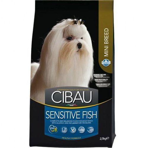 Farmina Cibau fish mini 3x2,5kg ( 7,5kg ) adult + pojemnik półksiężyc 16l / (8010276030962)