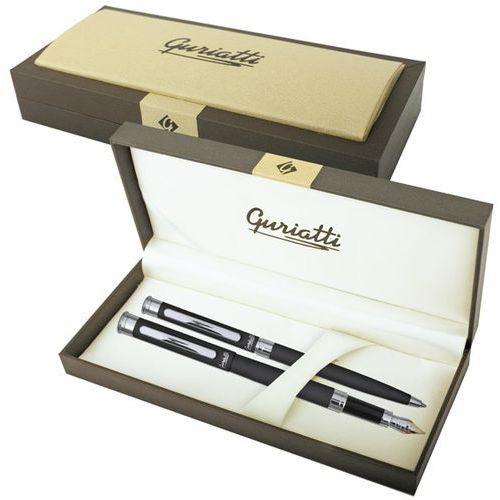 Komplet Pióro + Długopis Stretto Czarny - Spokey (5901180302111)