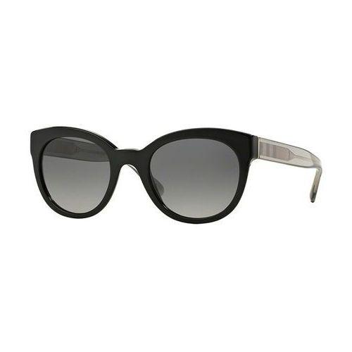 Okulary Słoneczne Burberry BE4210 Check Polarized 3001T3, kolor żółty