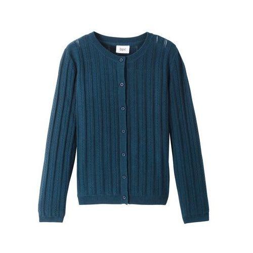 Sweter bożonarodzeniowy z motywem renifera bonprix ciemnoniebieski