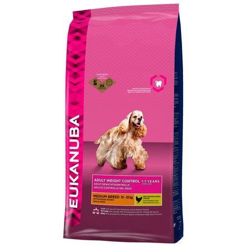 EUKANUBA Adult Medium Weight Control 15kg (8710974954583)