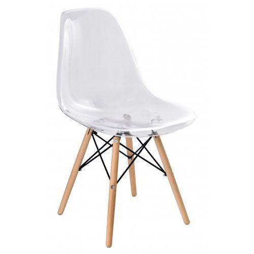 Krzeslaihokery Krzesło milano transparentne