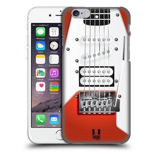 Etui plastikowe na telefon - Electric Guitar ORANGE