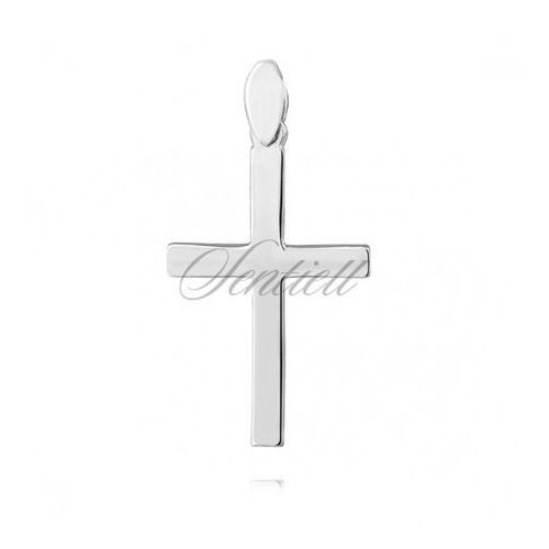 Srebrny (pr.925) krzyżyk - KS0198C - OKAZJE