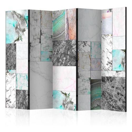 Artgeist Parawan 5-częściowy - płyty marmurowe ii [room dividers]