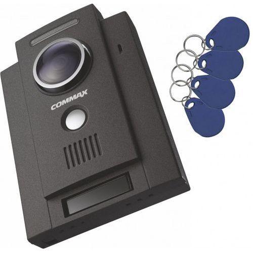 Commax Drc-4chc/rfid stacja bramowa 1-abonentowa z kamerą i czytnikiem kart rfid