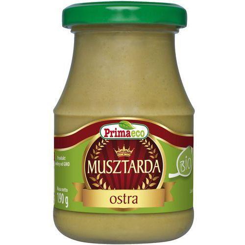 Musztarda ostra bio 190g marki Primaeco