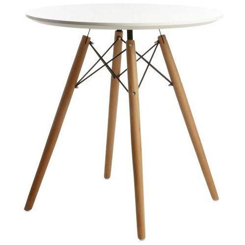 Stół do jadalni na drewnianych nogach dsw marki King home