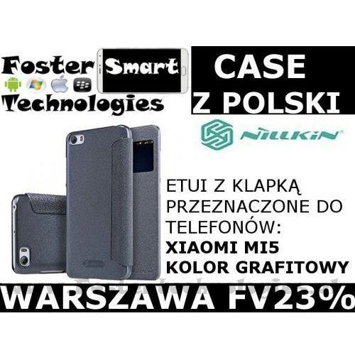 Nillkin CASE KLAPKA Xiaomi MI5 GRAFITOWY FV23%