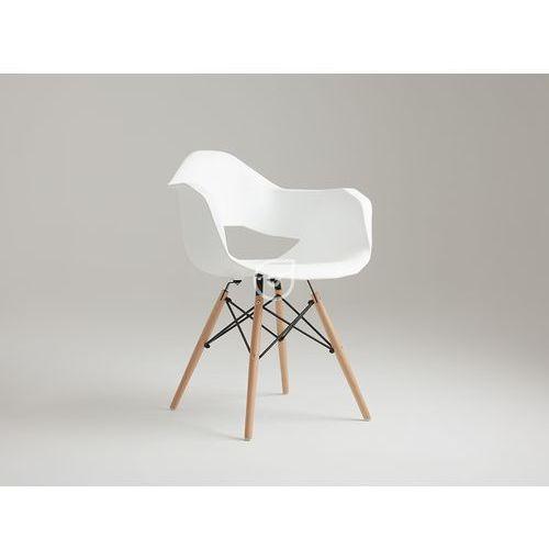Krzesło Match Arms Wood biały by CustomForm, kolor biały
