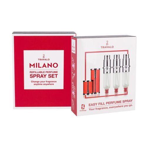 Travalo Milano flakon z możliwością napełnienia 3x5 ml unisex