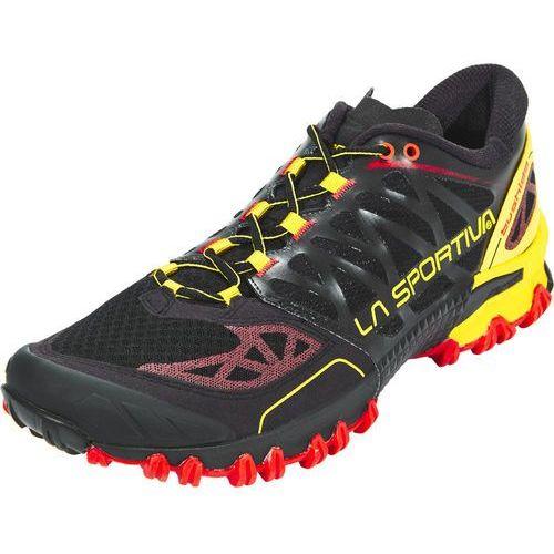 La Sportiva BUSHIDO Obuwie do biegania Szlak black/yellow (8020647563302)