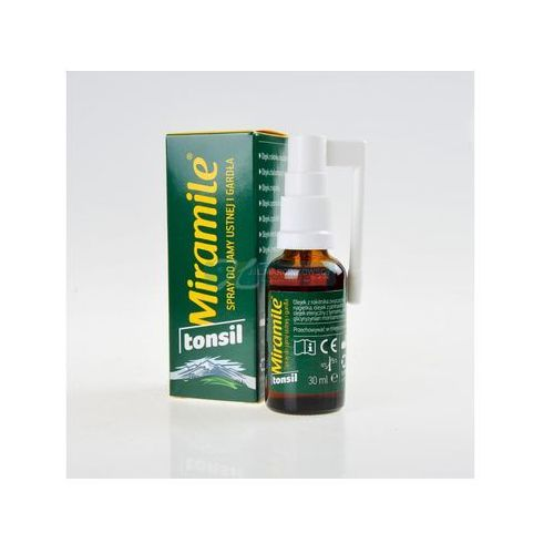 Valentis polska Miramile tonsil spray do jamy ustnej i gardła - 30 ml, kategoria: pozostałe środki dentystyczne