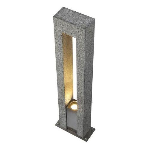 Slv Arrock arc gu10 - oprawa podłogowa granitowa gu10,max.35w (4024163130929)