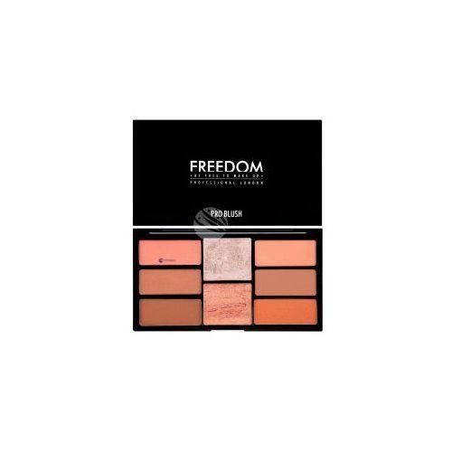 Freedom Pro Blush Palette (W) zestaw róży i rozświetlaczy do twarzy Peach And Baked 15g
