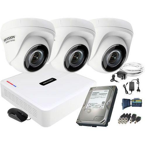 Zestaw do monitoringu Hikvision 3 kamerowy Hiwatch HD, ZM10887