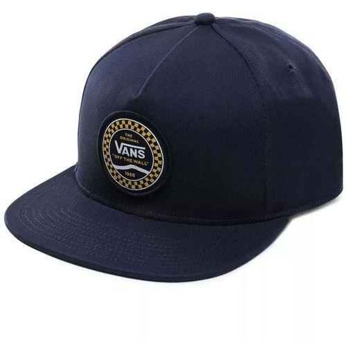czapka z daszkiem VANS - Og Checker Snapback Dress Blues (LKZ) rozmiar: OS, kolor niebieski