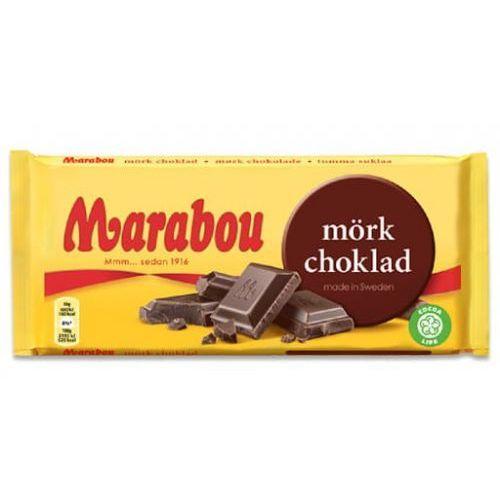 Marabou - morkchoklad - ciemna czekolada - 185g - ze szwecji (7622210839480)
