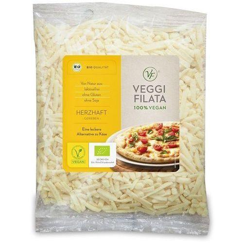 Produkt wegański a la ser tarty (6mm) bio 200 g - veggie filata marki Veggie filata (sery wegańskie)