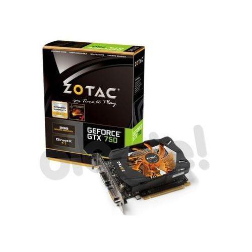 Zotac GeForce GTX750 2GB DDR5 128bit - produkt w magazynie - szybka wysyłka! (karta graficzna)