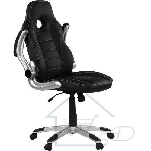 Fotel biurowy racer gt funkcyjny dla gracza do biura czarny marki 1