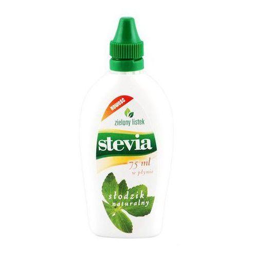 stevia płyn 75ml marki Zielony listek. Tanie oferty ze sklepów i opinie.
