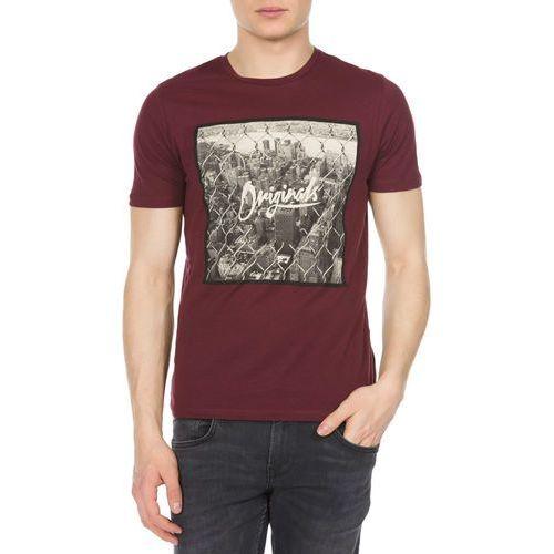 Jack & Jones Jungle Koszulka Fioletowy XL (5713238413249)