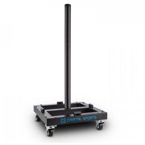 Capital sports Compristar wózek / trolley do transportu obciążeń rolki do ciężkich materiałów maks. 300kg