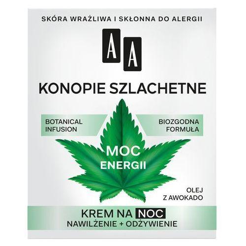 "Oceanic Aa moc roślin konopie szlachetne 30+ krem na noc ""moc energii"" 50ml"