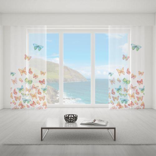 Firana na wymiar do pokoju - PARADISE BUTTERFLIES