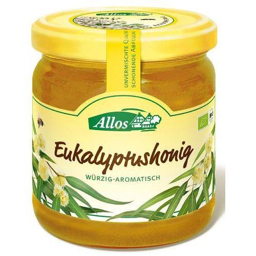 Allos (musy, miody, musli, batony, syropy z agawy Miód nektarowy eukaliptusowy bio 500 g - allos (4016249101619)