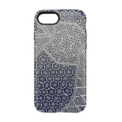 Speck Presidio Inked - Etui iPhone 7 (Shiboritile Blue Matte/Marine Blue) DARMOWA DOSTAWA, kolor niebieski