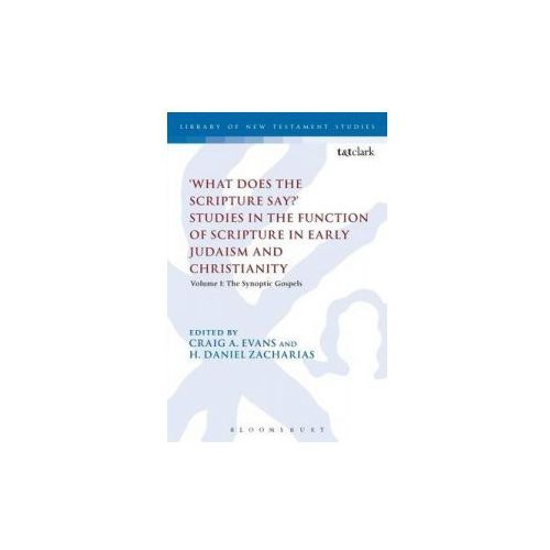 'What Does the Scripture Say?' Studies in the Function of Sc (9780567200815)