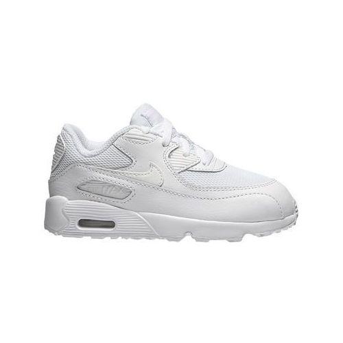 "Buty Nike Air Max 90 (PS) ""all white"" (833422-100) - Biały"