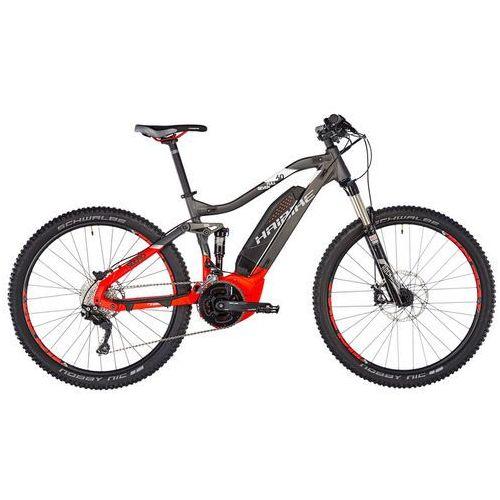 """sduro fullseven 6.0 rower elektryczny full szary/czerwony 52cm (27.5"""") 2018 rowery górskie marki Haibike"""