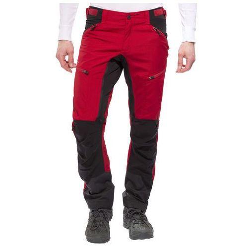 makke spodnie długie mężczyźni czerwony/czarny 46 2017 spodnie i jeansy, Lundhags