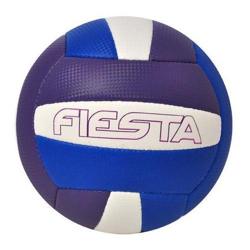 Axer Sport, Fiesta, piłka siatkowa, biało-fioletowo-niebieska, rozmiar 5 - sprawdź w wybranym sklepie
