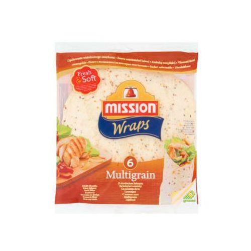 Tortilla pszenna z siemieniem lnianym 6szt (8710637007403)
