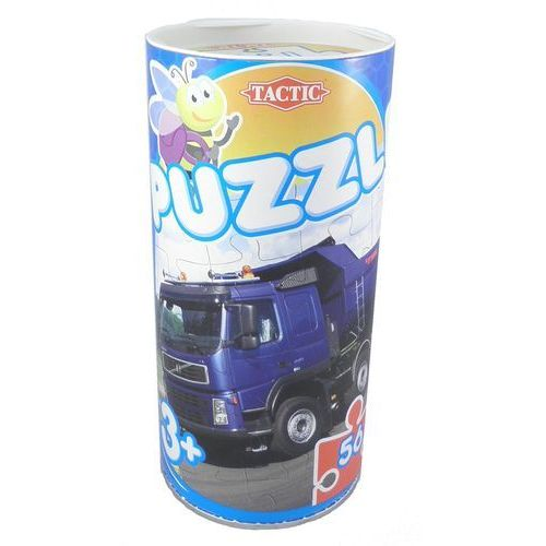 Ciężarówka, puzzle w puszce, 56 elementów marki Tactic