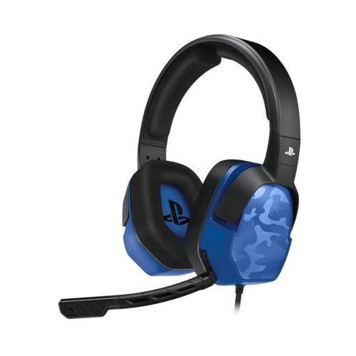 Zestaw słuchawkowy lvl.3 camo blue do ps4 marki Pdp