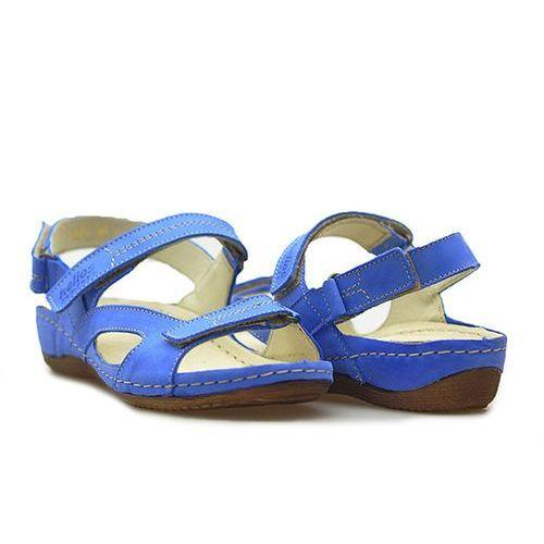 Sandały Helios 221 Niebieskie