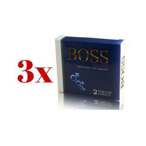 MEGA ZESTAW 2+1 Gratis Boss Energy Ginseng 6 tab.