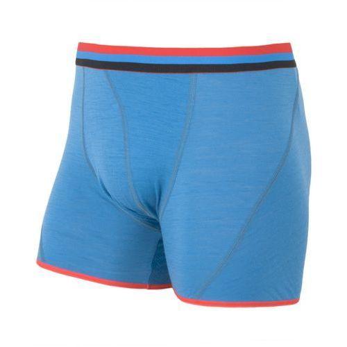 merino wool active men's boxer shorts niebieski m 2014-2015 marki Sensor