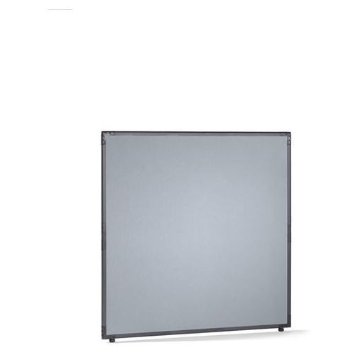 Ścianka działowa, filc, rama w kolorze szarym łupkowym, srebrno-szary, wys. x sz marki Clipper system srl