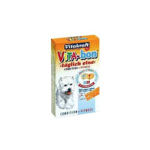Vitakraft vita bon - tabletki witaminowe dla małych psów (5-10kg) 31tab. (4008239230683)