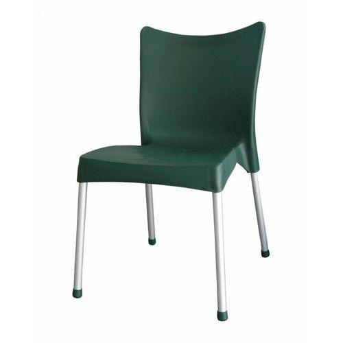 krzesło mp464 vita, ciemnozielone marki Mega plast