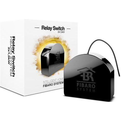 Podwójny włącznik przekaźnikowy Fibaro Relay Switch 2x1,5kW