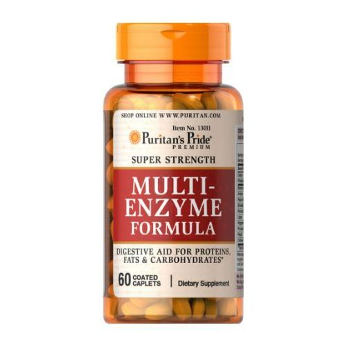 Tabletki Puritan's Pride Multi-Enzyme Formula 60 tabl.