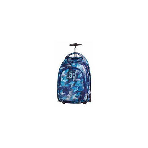 Coolpack plecak target 34l na kółkach frozen blue marki Patio