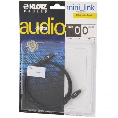 fo 03tt 3m toslink/toslink kabel marki Klotz